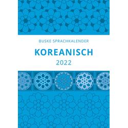 Sprachkalender Koreanisch 2022