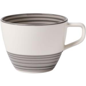 Villeroy & Boch 10-4231-1300 Manufacture gris Kaffeetasse, Premium Porzellan