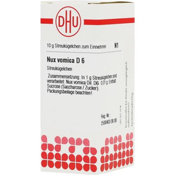 NUX VOMICA D 6 Globuli 10 g