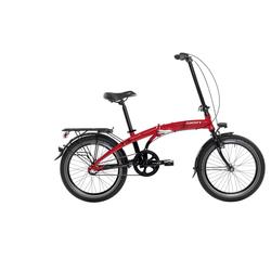 SIGN Klapprad, 3 Gang, Shimano, NEXUS SG-3C41 Schaltwerk rot Falträder Klappräder Fahrräder Zubehör Klapprad