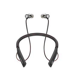Sennheiser Momentum In-Ear Kopfhörer Wireless (M2 IEBT Black) Professionelles In-Ear-Headset mit Nackenbügel