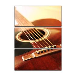 Bilderdepot24 Leinwandbild, Leinwandbild - Gitarre 90 cm x 150 cm