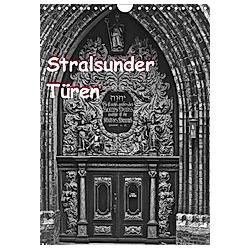 Stralsunder Türen (Wandkalender 2021 DIN A4 hoch)