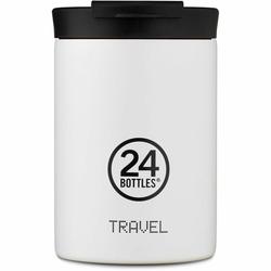 24Bottles Basic Travel Filiżanka do picia 350 ml ice white