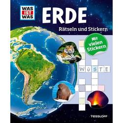 WIW Rätseln und Stickern: Erde