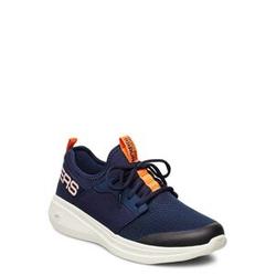 Skechers Mens Go Run Fast - Valor Niedrige Sneaker Blau SKECHERS Blau 44,43,44.5,45,46,45.5