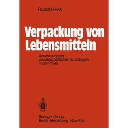 Verpackung von Lebensmitteln als Buch von R. Heiss