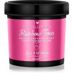 I Heart Revolution Rainbow Tones Auswaschbare Farbe für das Haar Farbton Pink Cloud 120 ml