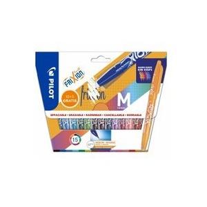 PILOT Tintenroller FriXion Ball 0.7 (M) 15er Set