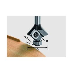 Festool Wendeplatten-Abrundfräser HW S8 HW R1,5 D28 für MFK 700 EQ Nr.499810