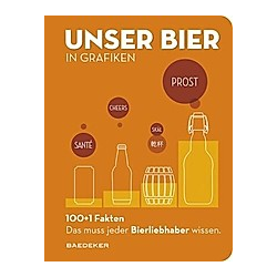 Baedeker 100+1 Fakten - Unser Bier in Grafiken - Buch