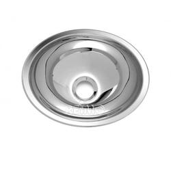 Edelstahlwaschbecken oval 340mm