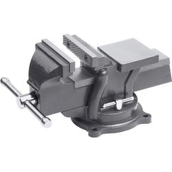 meister Schraubstock, 100 mm, drehbar grau Schraubstöcke Werkzeug Maschinen Schraubstock