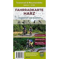 Fahrradkarte Harz - Buch