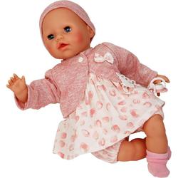 Schildkröt Manufaktur Babypuppe Amy, rose/weiß, Made in Germany