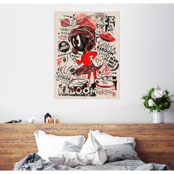 Posterlounge Wandbild, Marvin der Marsmensch 60 cm x 80 cm
