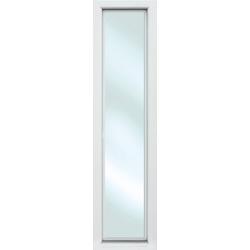 KM Zaun Türseitenteil S01, für Alu-Haustür, weiß