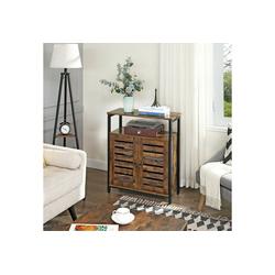 VASAGLE Sideboard LSC76BX, Sideboard, Küchenschrank, vintage