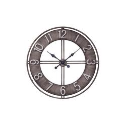 Boltze Wanduhr Hudson in grau, 78 cm