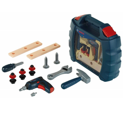Bosch Theo Klein Mini Werkzeugbox Spielzeug Akkuschrauber Hammer Geschenkidee