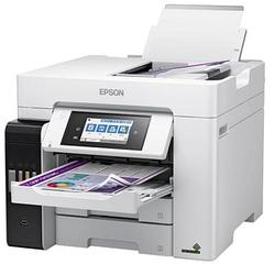 EPSON EcoTank ET-5880 4 in 1 Tintenstrahl-Multifunktionsdrucker grau