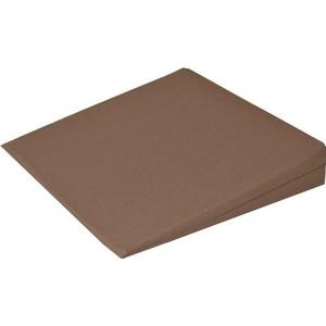 Orthopädisches Keilkissen Kissen Sitzkissen Sitzkeilkissen Sitzkissen Sitzkeil mit 100 % Baumwollbezug! (braun)