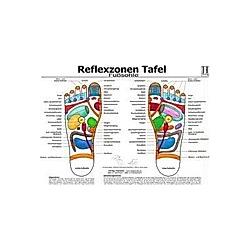 Fußsohle  Reflexzonen Tafel - Buch