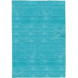 Wollteppich LORIBAFT TEPPSTAR, morgenland, rechteckig, Höhe 15 mm, reine Schurwolle, uni, Wohnzimmer blau 250 cm x 350 cm x 15 mm