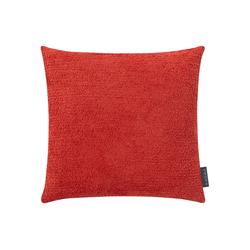 Kissenbezug Der Flauschige, mokebo, 40x40 oder 50x50cm, auch als weiche Kissenhülle rot 40 cm x 40 cm