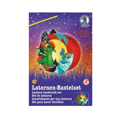 URSUS Laterne Laternen-Bastelset Easy Line, Baby Drachen