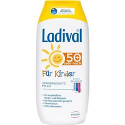 LADIVAL Kinder Sonnenmilch LSF 50+ 200 ml