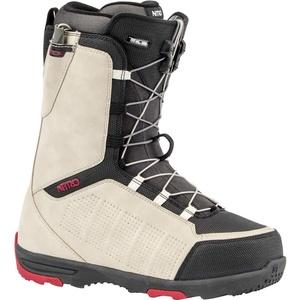 Nitro Herren Snowboardboot Thunder TLS Boot ́20, Größe:41 1/3, Farben:Sand-Black