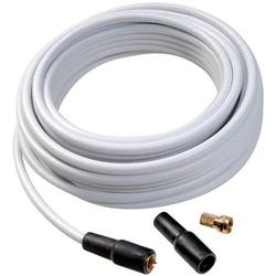 Vivanco 44060 Koaxialkabel 75Ω 110 dB Weiß 1 Set