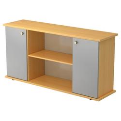 KAPA SB   Sideboard   mit Türen - Buche/Silber mit Knauf Sideboard