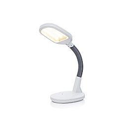 LED Tageslichttischlampe (Farbe: weiß)