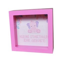 Udo Schmidt Bremen...das Original Spardose Spardose Geburt / Elefant / pink Sparschwein Sparkasse Geburtstag Baby Kinder Mädchen