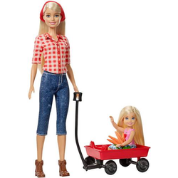 Barbie Farm + Chelsea Puppen GCK84