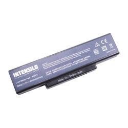 INTENSILO Li-Ion Akku 6000mAh (10.8V) für Notebook Laptop Hyrican M66JE wie A32-F2, 261750, 916C5280F u.a..