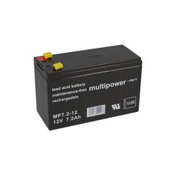 Multipower Multipower Blei-Akku MP7,2-12 Pb 12V / 7,2Ah VdS Bleiakkus