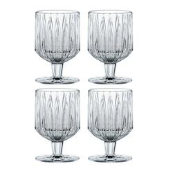 Nachtmann Gläser-Set Jules Kelch 4er Set 260ml, Kristallglas weiß