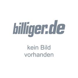 Respekta Küchenzeile Economy Buche Nachbildung E-Geräte 270 cm mit Edelstahlkochfeld grau
