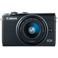 Canon EOS M100 schwarz + EF-M 15-45 mm IS STM