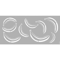 Schablone 31,5 x 66 cm Banana