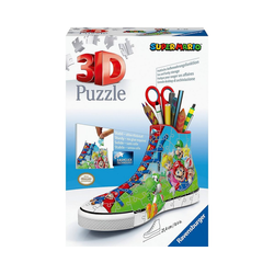 Ravensburger Puzzle Puzzle 108 Teile Super Mario Sneaker, Puzzleteile