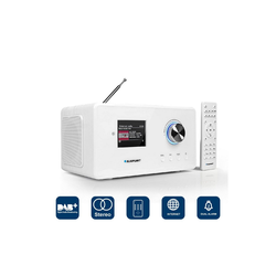 Blaupunkt IRD 30 C WH Radio (Digitalradio (DAB), Digitalradio (DAB), Digitalradio (DAB), 14 W, DAB+ Digitalradio mit WLAN und UKW-Empfang)
