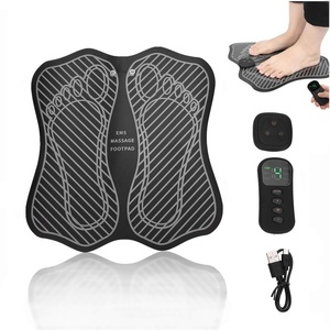 EMS Fußmassagegerät - EMS & TENS Muskelstimulator, Fußzirkulationsgerät, verbessert die Durchblutung, entspannt Steifheitsmuskeln, lindert Fuß- und Beinschmerzen