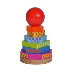 Eichhorn Stapelspielzeug Steckturm Color