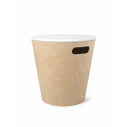 Aufbewahrungshocker Woodrow Umbra mehrfarbig, Designer Wesley Chau, 41.5 cm