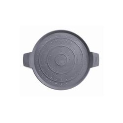 WOLL Spritzschutzdeckel Spritzschutz Silikon grau