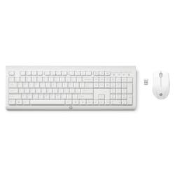 HP C2710 Kombitastatur Wireless-Tastatur und -Maus weiß